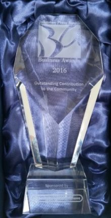 JP Award For Outstanding Contribution to the Community