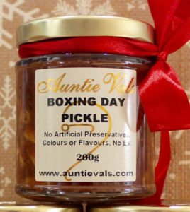 Auntie Vals Christmas Boxing Day Pickle