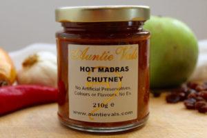 Auntie Vals Hot Madras Chutney