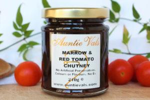 Auntie Vals Marrow Red Tomato Chutney