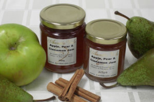 Auntie Vals apple pear and cinnamon jam