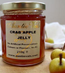 Auntie Vals crab apple jelly