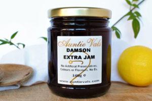 Auntie Vals extra damson extra jam