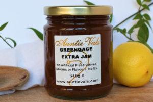 Auntie Vals greengage extra jam