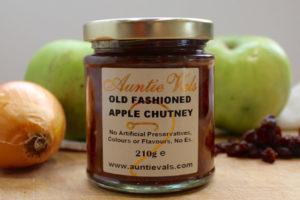 Auntie Vals old fashioned apple chutney