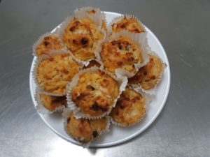 Auntie Vals recipes Cheese & Chutney Muffins