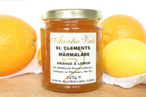 Auntie Vals st clements marmalade